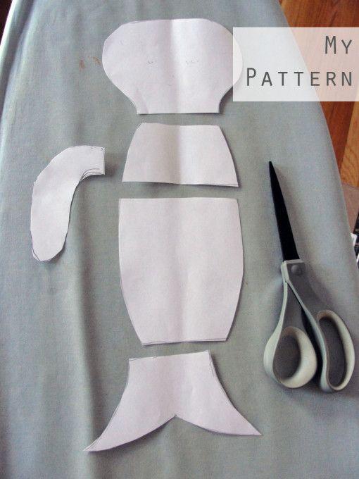 pattern_for_diy_stuffed_mermaid_doll