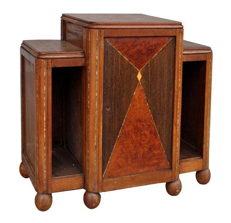 Charmant Table De Chevet Art Deco #13: Paire De Table De Chevets Art Déco Modernistes 1930 [480,00 U20ac]