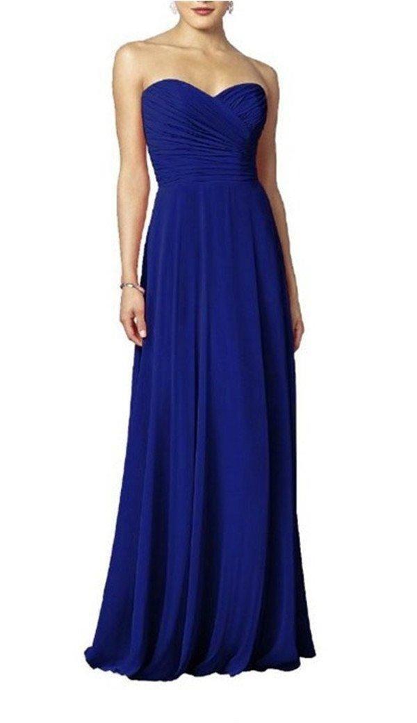 Long dress royal blue 6s