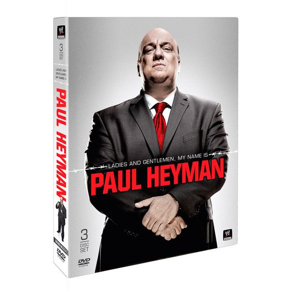 Ladies and Gentlemen, My Name is Paul Heyman DVD ❤ liked on Polyvore featuring wwe dvd