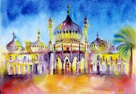 curtis tappenden - BRIGHTON PAVILION PAINTING - Google Search