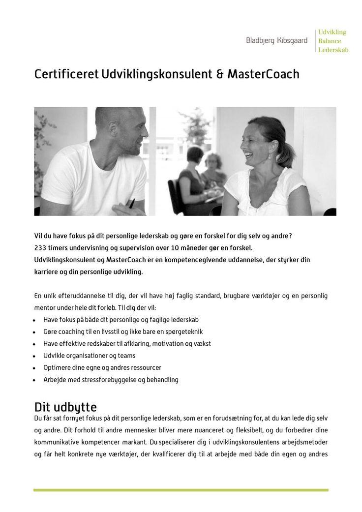 Coachuddannelse hos Bladbjerg Kibsgaard