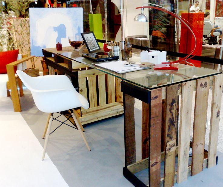 Ecodesign: lindos ambientes decorados com objetos reciclados