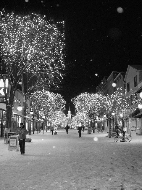 Church Street. Burlington, VT.