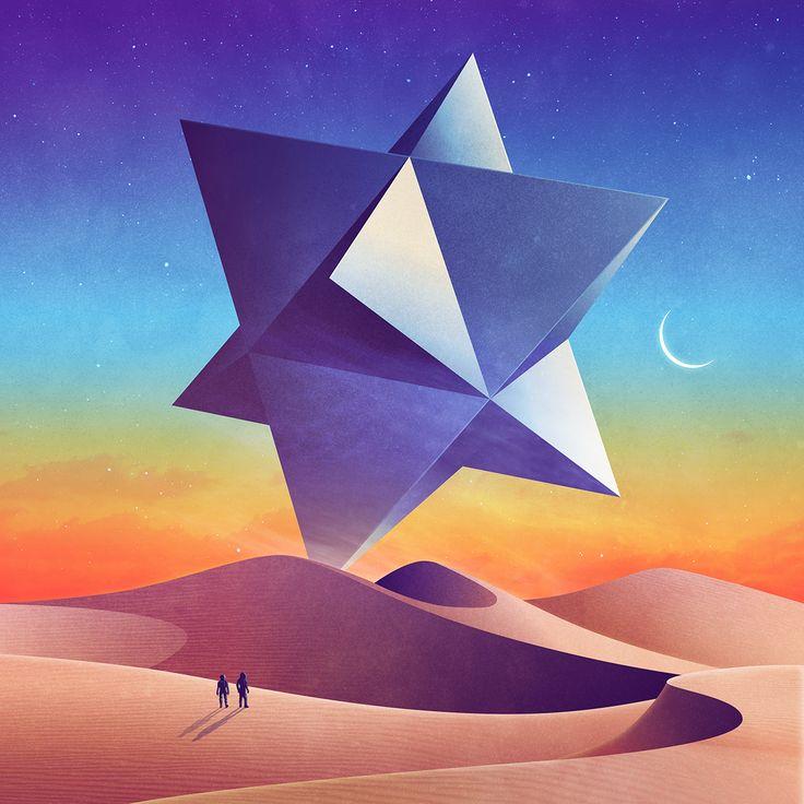 Photosop illustrator adobe illustrations neowave signalnoise james white digital art 4