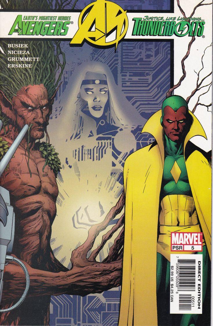 Avengers / Thunderbolts #5 - August Issue - Marvel Comics - Grade VF