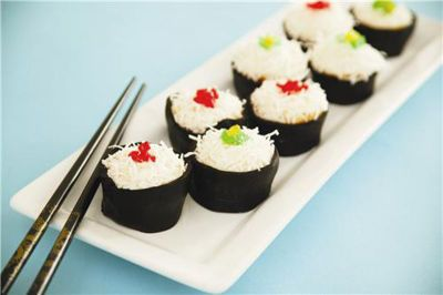 Sushi Mini Cupcakes-- Cutest cupcake idea EVER!
