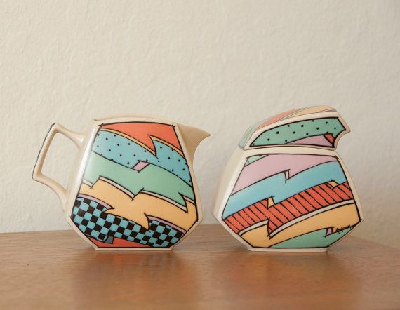 Flashforward Rosenthal Studio Line Dorthy Hafner Ceramic Flash Cream and Sugar Set