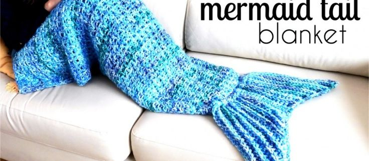 [Video Tutorial] This Awesome Mermaid Tail Blanket Is An Easy Pattern For Beginners