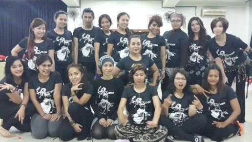 Teaching 12 hours intens8ve workshop of Tribal Bellydance Fundamental in Jakarta