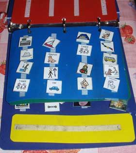 PECS (Picture Exchange Communication System) is another way for children and adults to communicate.