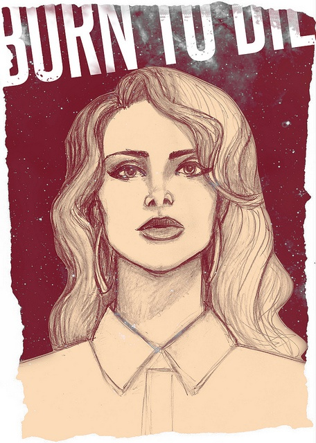 Lana Del Rey - Born To Die Poster