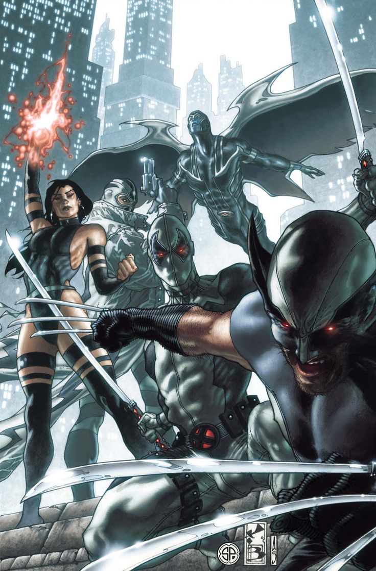 X-Force by Simone Bianchi