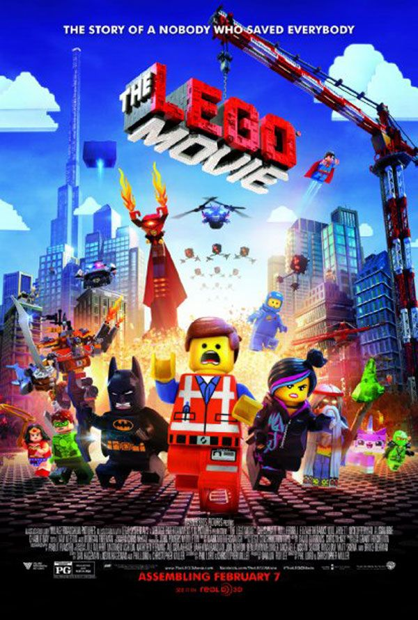 Cine infantil: las películas de 2014. Lego, la película