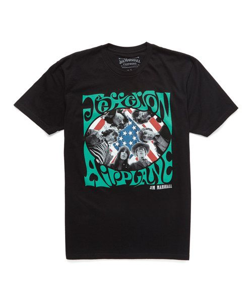 Look at this Black 'Jefferson Airplane' Tee on #zulily today!