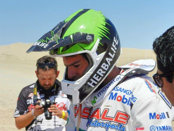 Ignacio Casale, piloto del #TeamHerbalife. Ganador del Dakar 2014 en categoria de Quads.