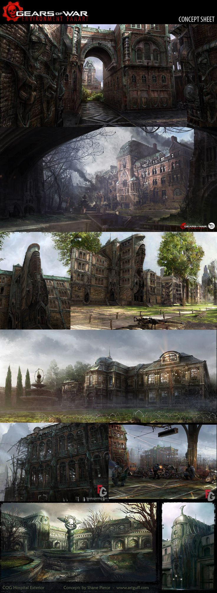 Gears of War Environment - Polycount Forum