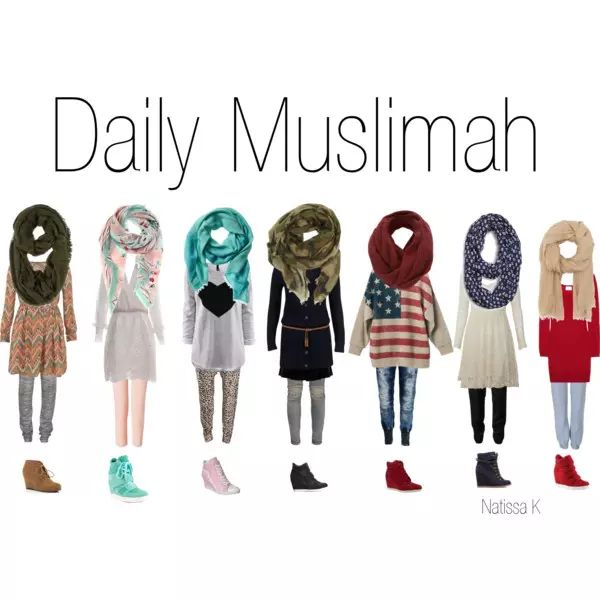 * Daily Muslimah * - Polyvore on We Heart It