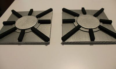 SIMPLY HERE: DIY Play Kitchen Stove-top Burners                                                                                                                                                      More