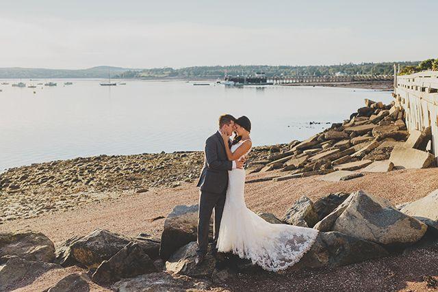 Nautical-themed wedding in St. Andrews, New Brunswick