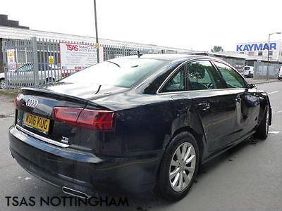 eBay: 2016 Audi A6 SE TDi Ultra Black Damaged Salvage #carparts #carrepair