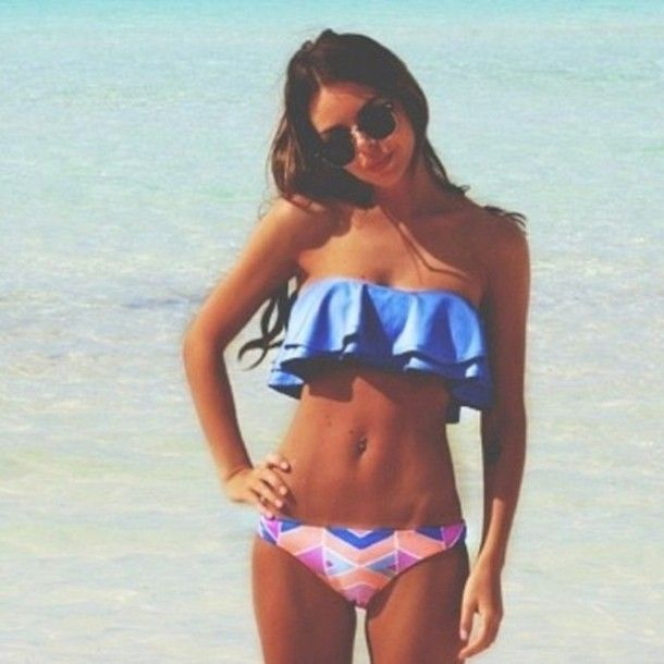 cute chevron bathing suits - Google Search