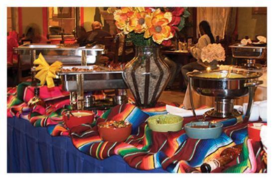 Simple Diy Taco Bar Fiesta Or Siesta Latin Decor