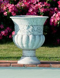 Vaso grande bianco antico