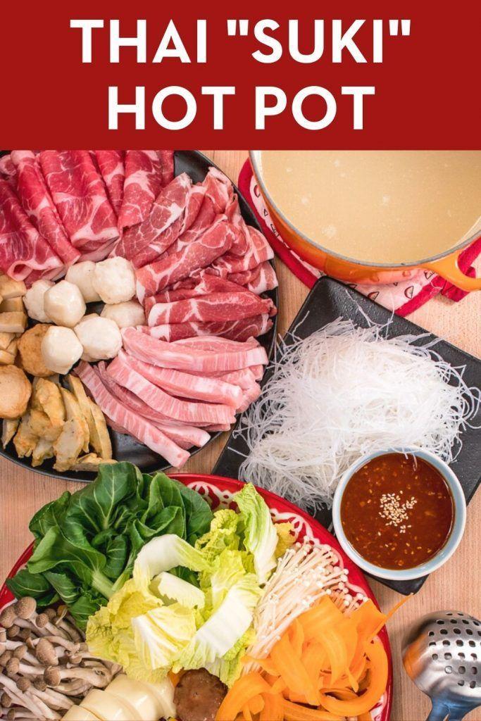 Thai Sukiyaki Hot Pot Recipe Mk Suki Style Recipe Easy Asian