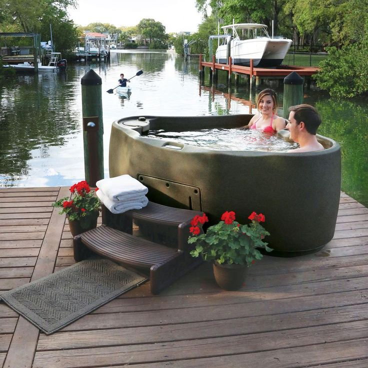 Aquarest spas premium 300 2person plug and play hot tub
