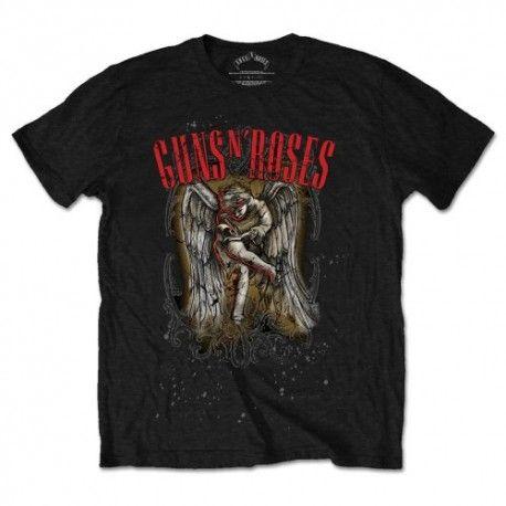 Tricou Guns N' Roses: Sketched Cherub