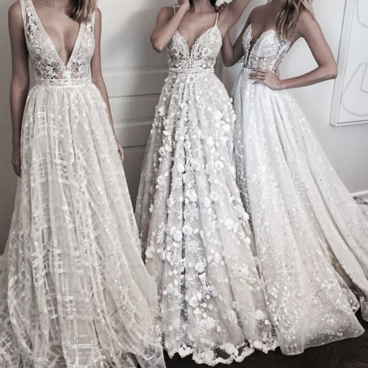 chic wedding dresses for the young bride
