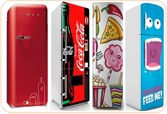 Vinilos originales para frigorificos decoraci n con - Vinilos decorativos baratos ...