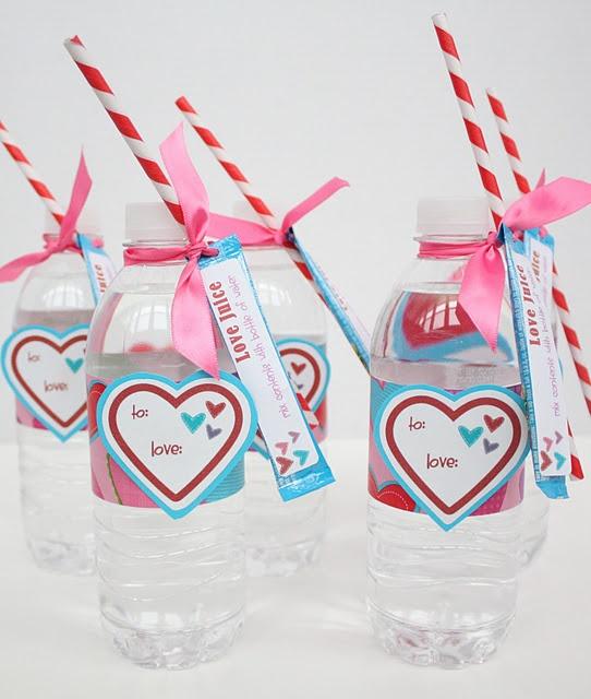 """Love Juice"" Valentine with Printable"