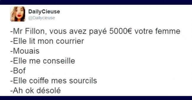 Top 15 des tweets les plus drôles sur laffaire Fillon bravo François