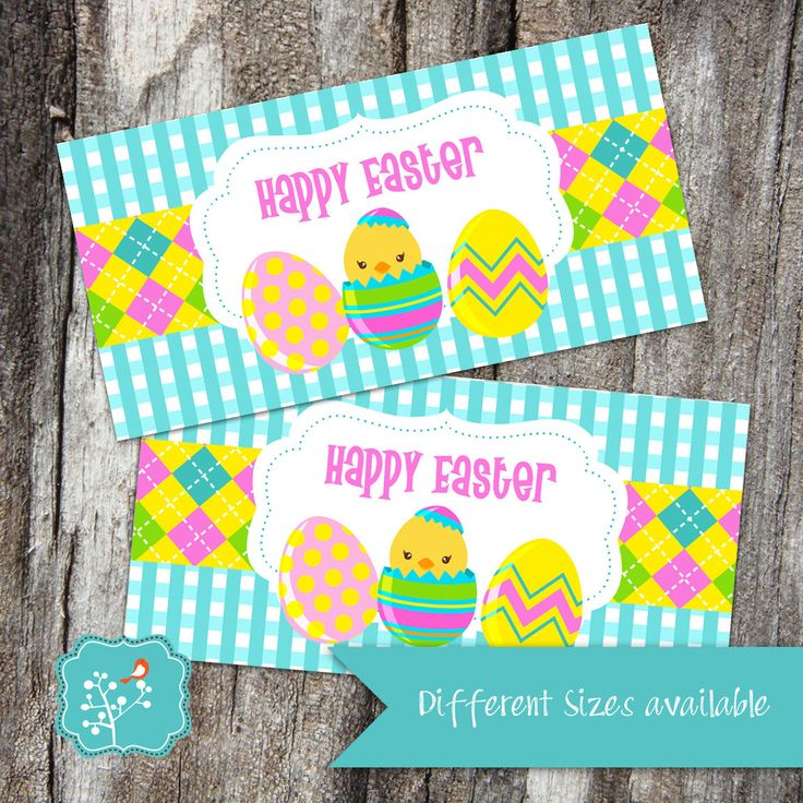 The 11 best images about easter goodies on pinterest easter bag topper easter treat bag party favor tag personalized bag toppers negle Image collections