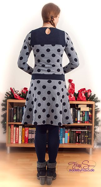 Basic Winterkleid  von #FrauLiebstes via #Kibadoo