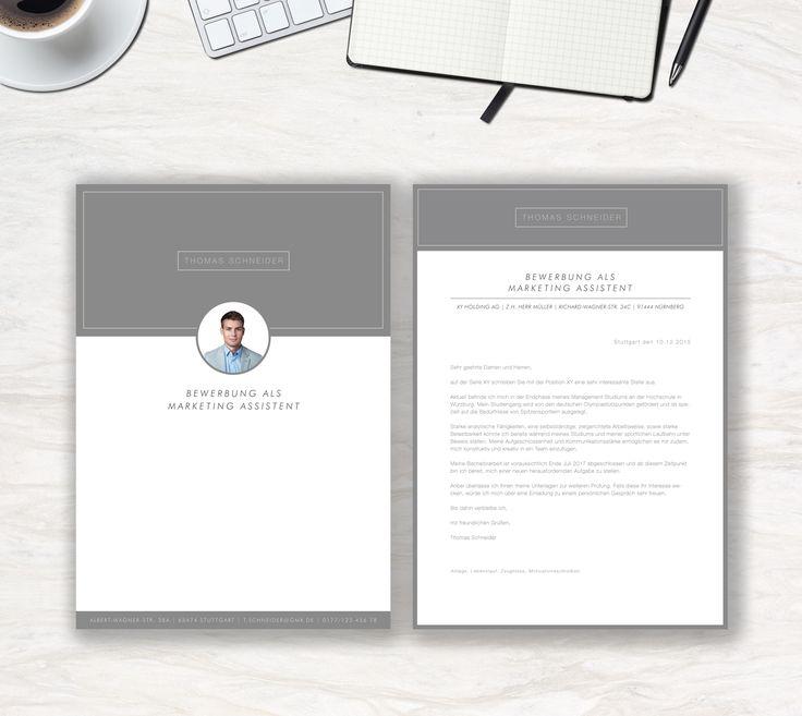 """Ab jetzt neu in unserem Shop. Unsere Bewerbungsvorlage """"Modern Office"""" in der Farbe Micro Grey. Modern & Clean, das ist die Aussage der Vorlage """"Modern Office"""". Lassen Sie alle anderen Mitbewerber hinter sich. Sie erhalten von uns ein Deckblatt, Anschreiben, Lebenslauf, Motivationsschreiben und eine Abschlussseite. Die Datei bekommen Sie als fertige Pages- oder Word-Datei inklusive Platzhaltertext mit Hinweisen."""