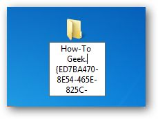 """Windows has a hidden """"How-To Geek Mode"""" that you can enable which gives you access to every Control Panel tool on a single page. Right-click on the desktop, choose New –> Folder, and then give it this name: How-To Geek.{ED7BA470-8E54-465E-825C-99712043E01C} Once you've done so, you'll have activated the secret mode, and the icon will change. Double-click on the icon, and now you can use the How-To Geek mode, which lists out every single Control Panel tool on a single page. 