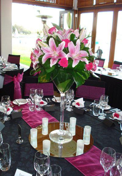 Elysium Functions brilliant floral table centre