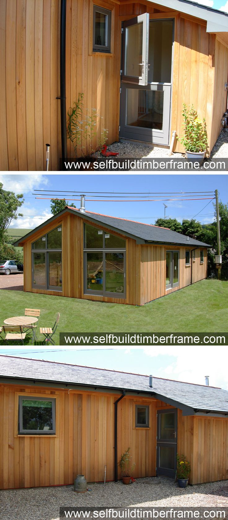 Example Build - Residential 3-Bed Garden Lodge - Self Build Timber Frames