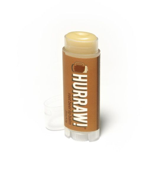 HURRAW! Root Beer Lip Balm | Cool, creamy, and rooty fabulous.   Made from premium raw, organic and fair trade ingredients sourced here at home and around the world. These all natural, vegan lip balms are super smooth, not too sweet and never sticky. Each tube of Hurraw! balm is individually poured in their own facility.