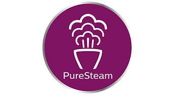Technologie PureSteam pro trvalý a výkonný proud páry