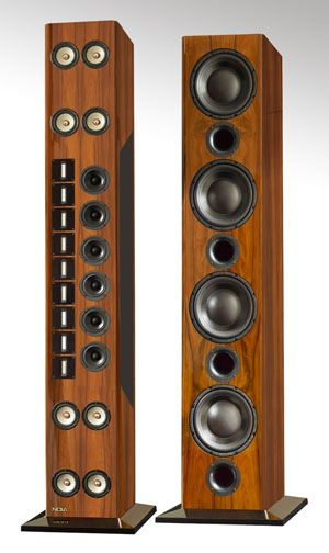NOLA Grand Reference IV speakers.  Some of the finest speakers in the world. http://www.nolaspeakers.com