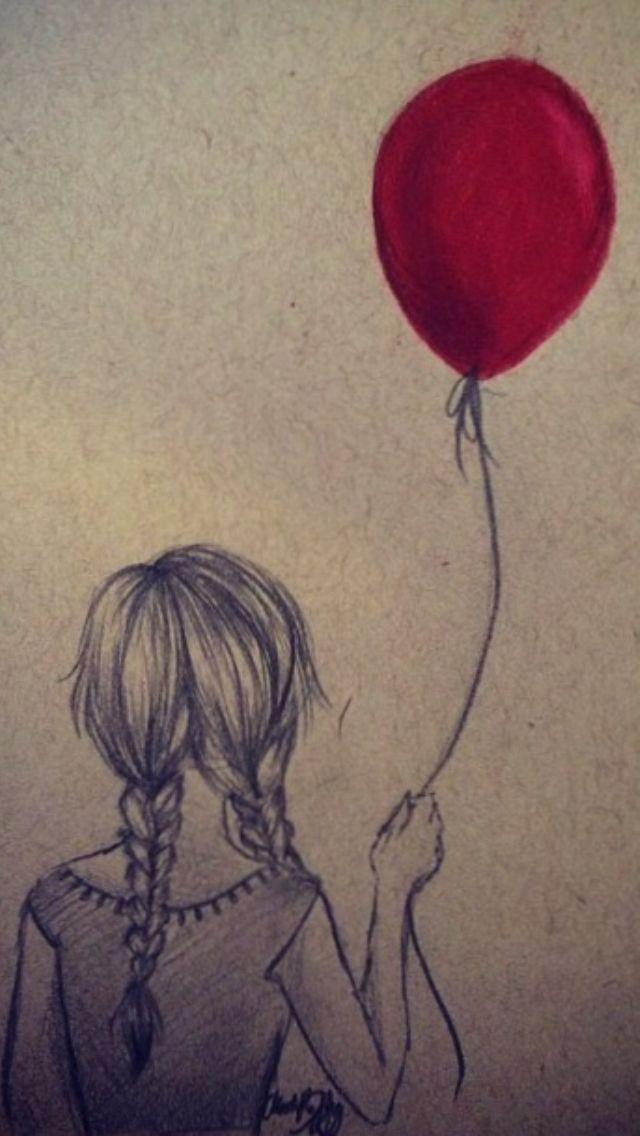 Mädchen mit Ballon – Loraine Hilberts