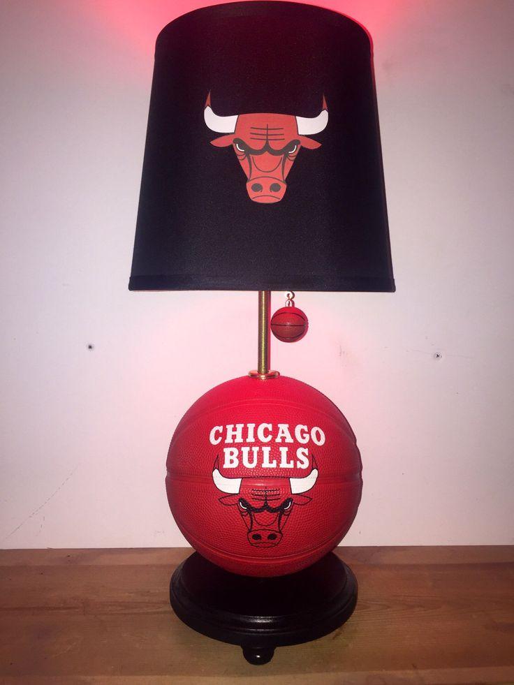 Chicago Bulls Lamp Bulls Basketball Basketball Light