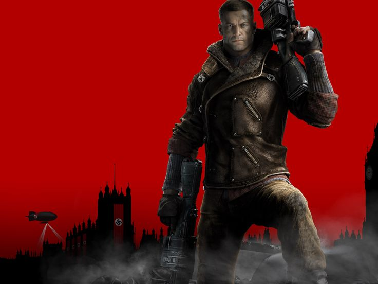 "William Joseph ""BJ"" Blazkowicz. Wolfenstein the new order and old blood. Such a badass. Hell I can see where Stan gets he badassness from:)"