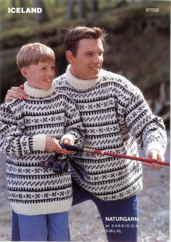 Dyrehandler Clausens sweater, www.ulrikkagarn.dk