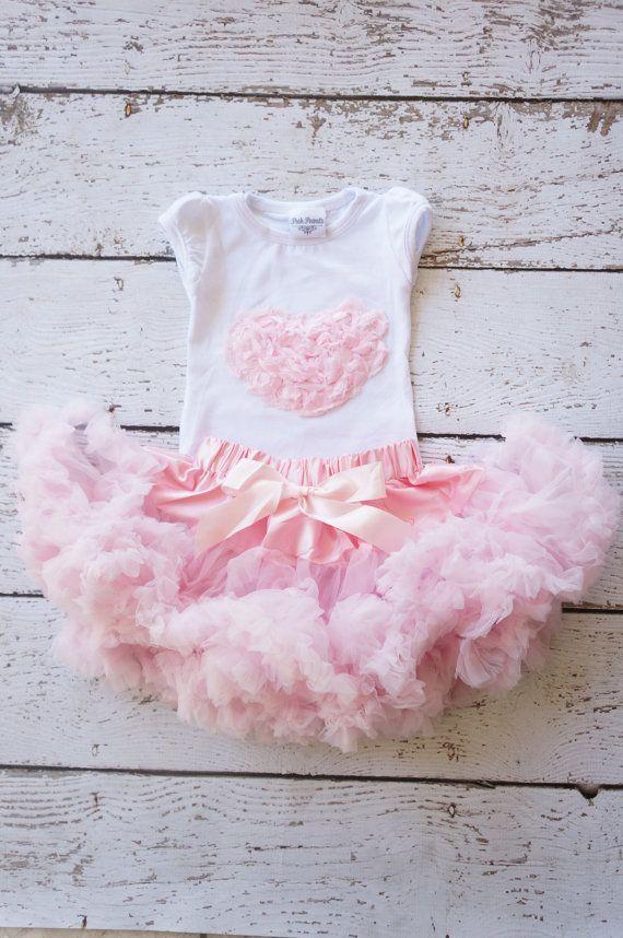 Baby Valentine outfit Valentine Tutu Valentine by PoshPeanutKids, $50.00