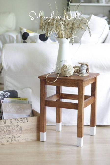 Dipped Oddvar stool